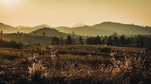 #mountains, #nature #hills #sunset #evening #india 的 免费素材照片
