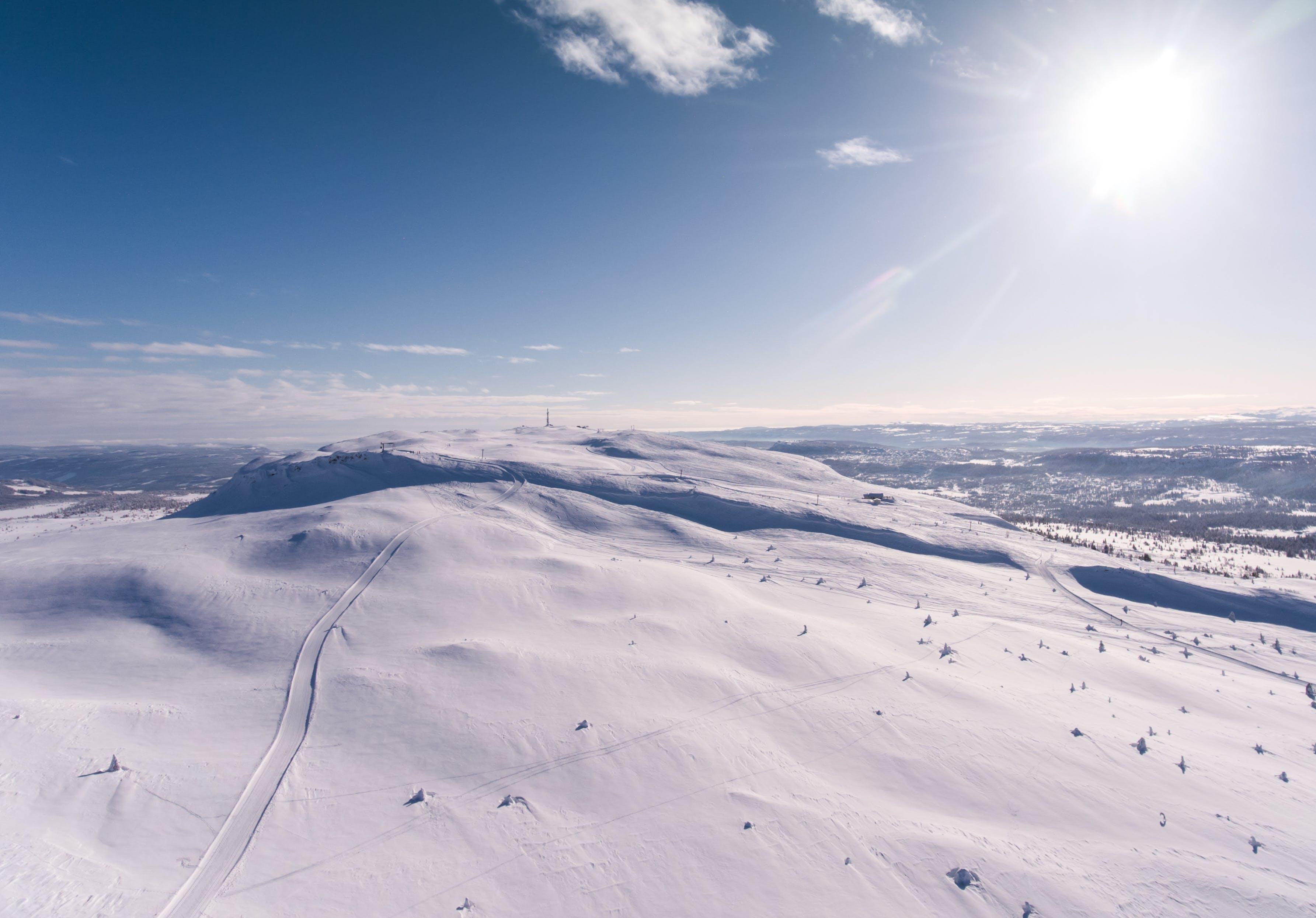 Kostenloses Stock Foto zu berg, jahreszeit, klarer himmel, landschaft