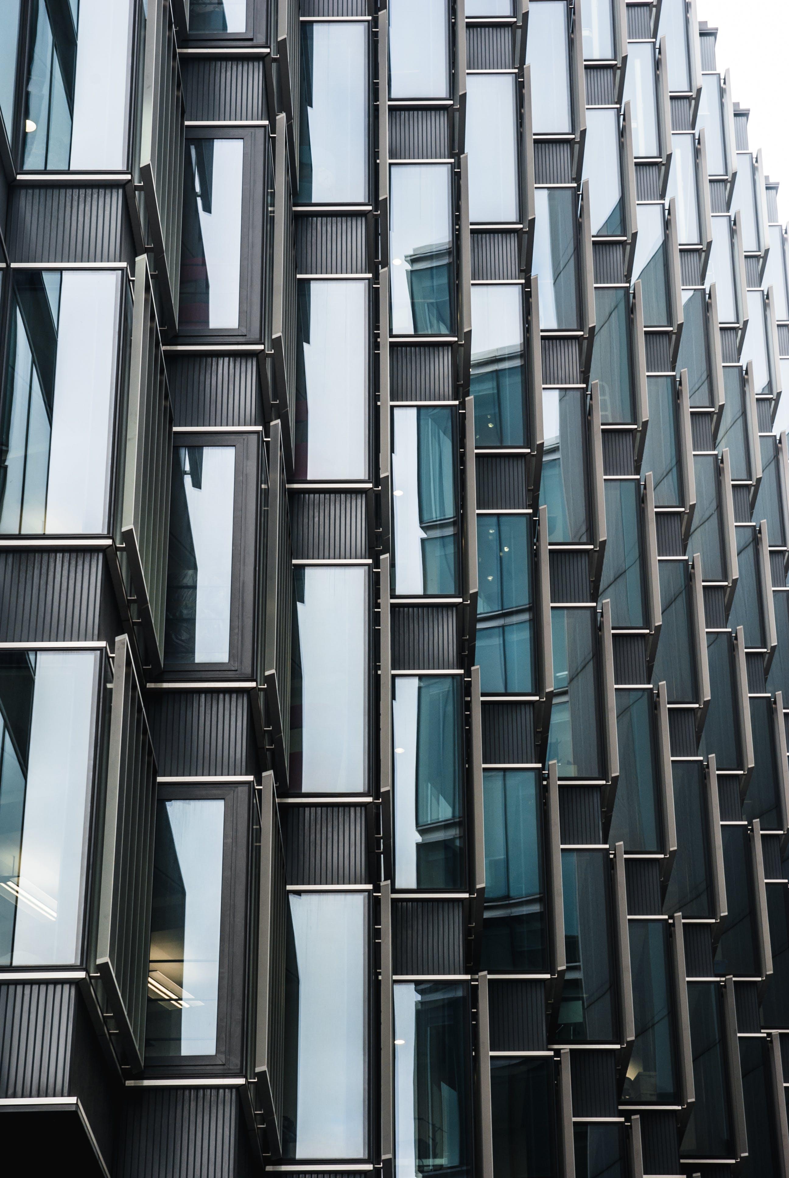 ガラス窓, テクスチャ, パターン, モダンの無料の写真素材