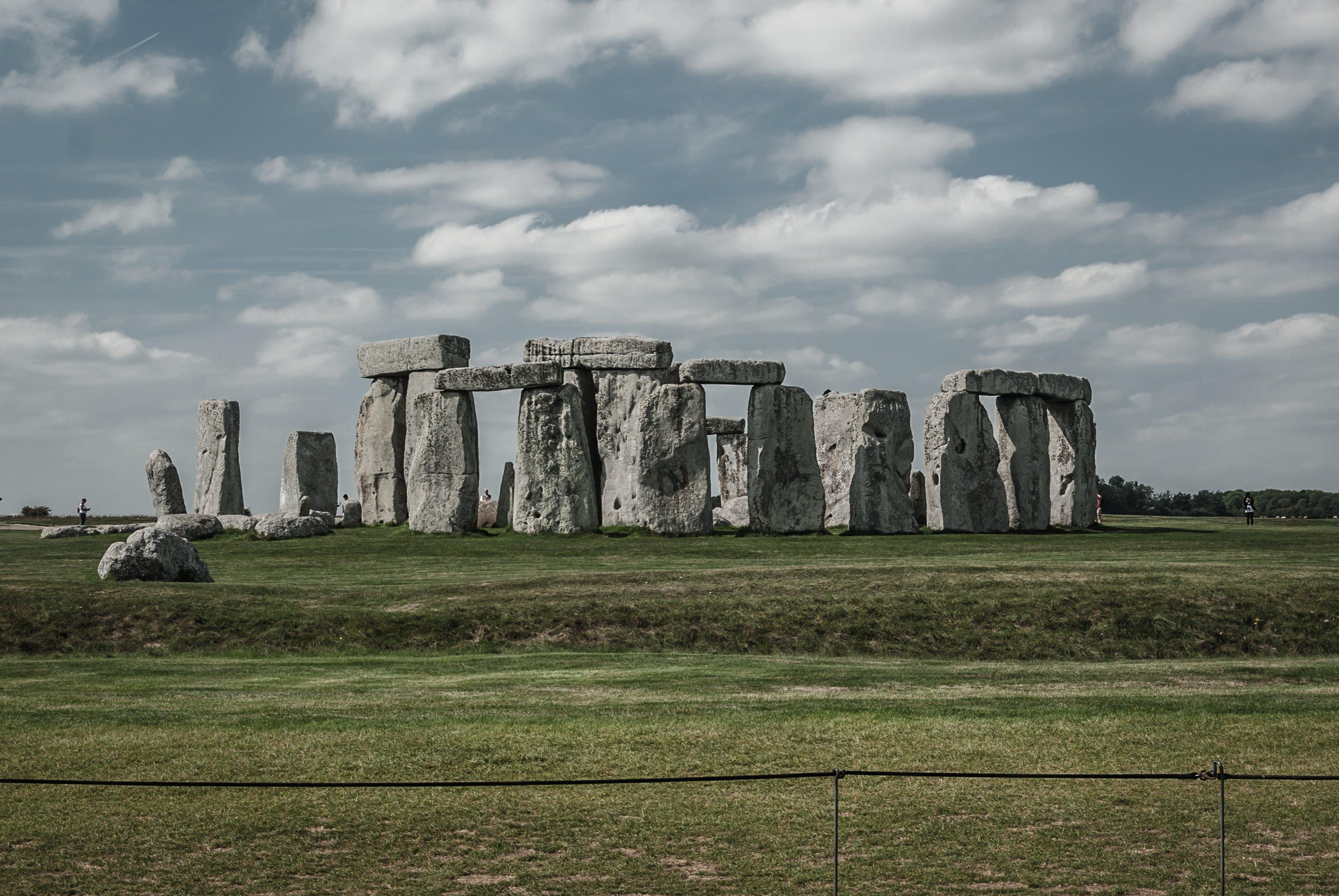 abide, anıt taş, arkeoloji, bulutlar içeren Ücretsiz stok fotoğraf