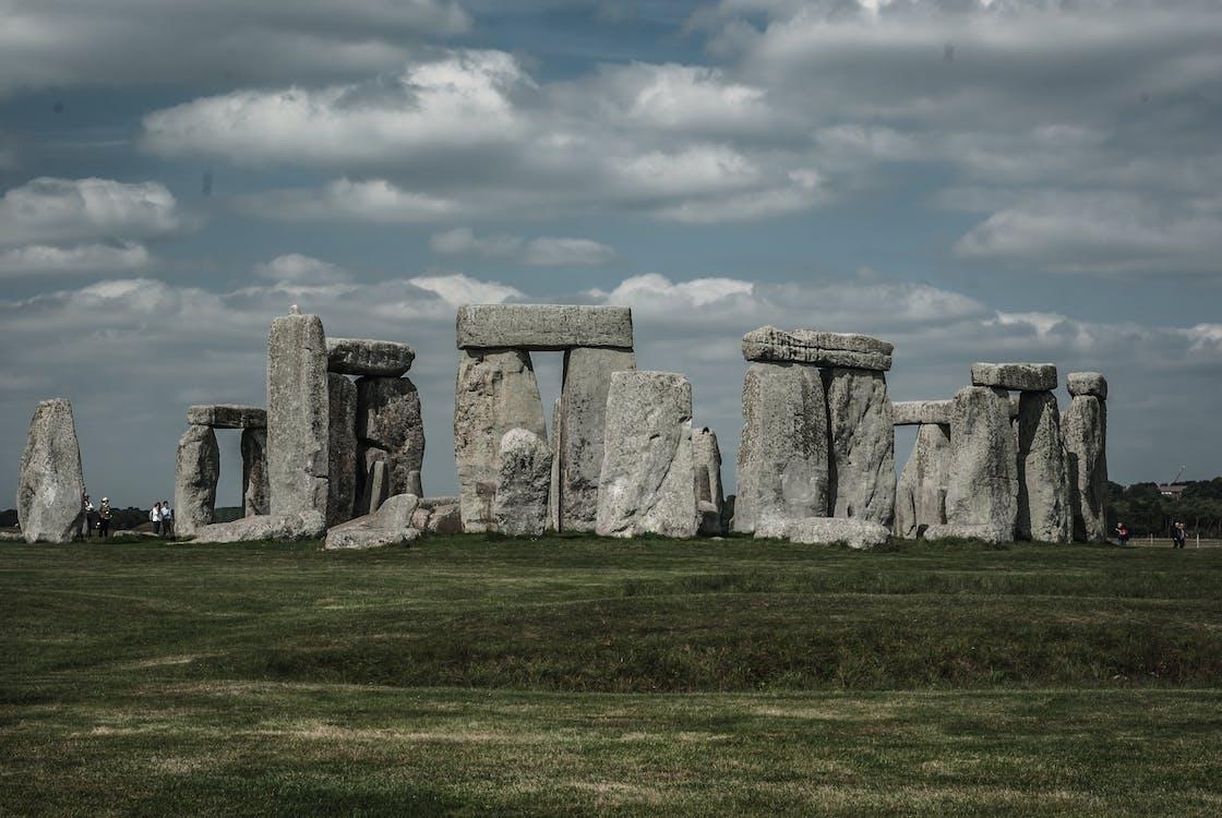 Imagine de stoc gratuită din antic, cer impresionant, iarbă