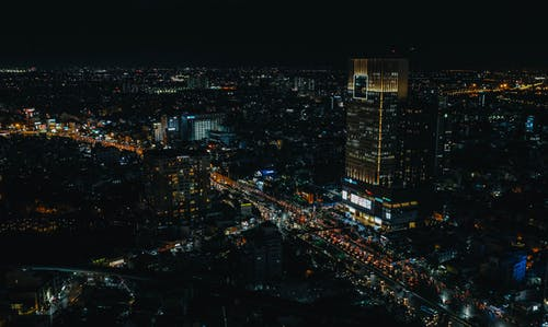 Imagine de stoc gratuită din clădiri, localitate, lumini, luminile orașului