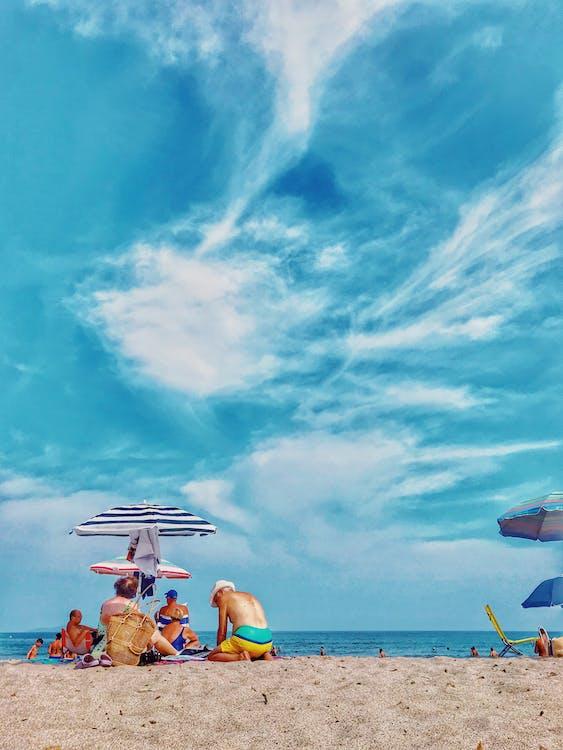 активный отдых, берег, дневной свет