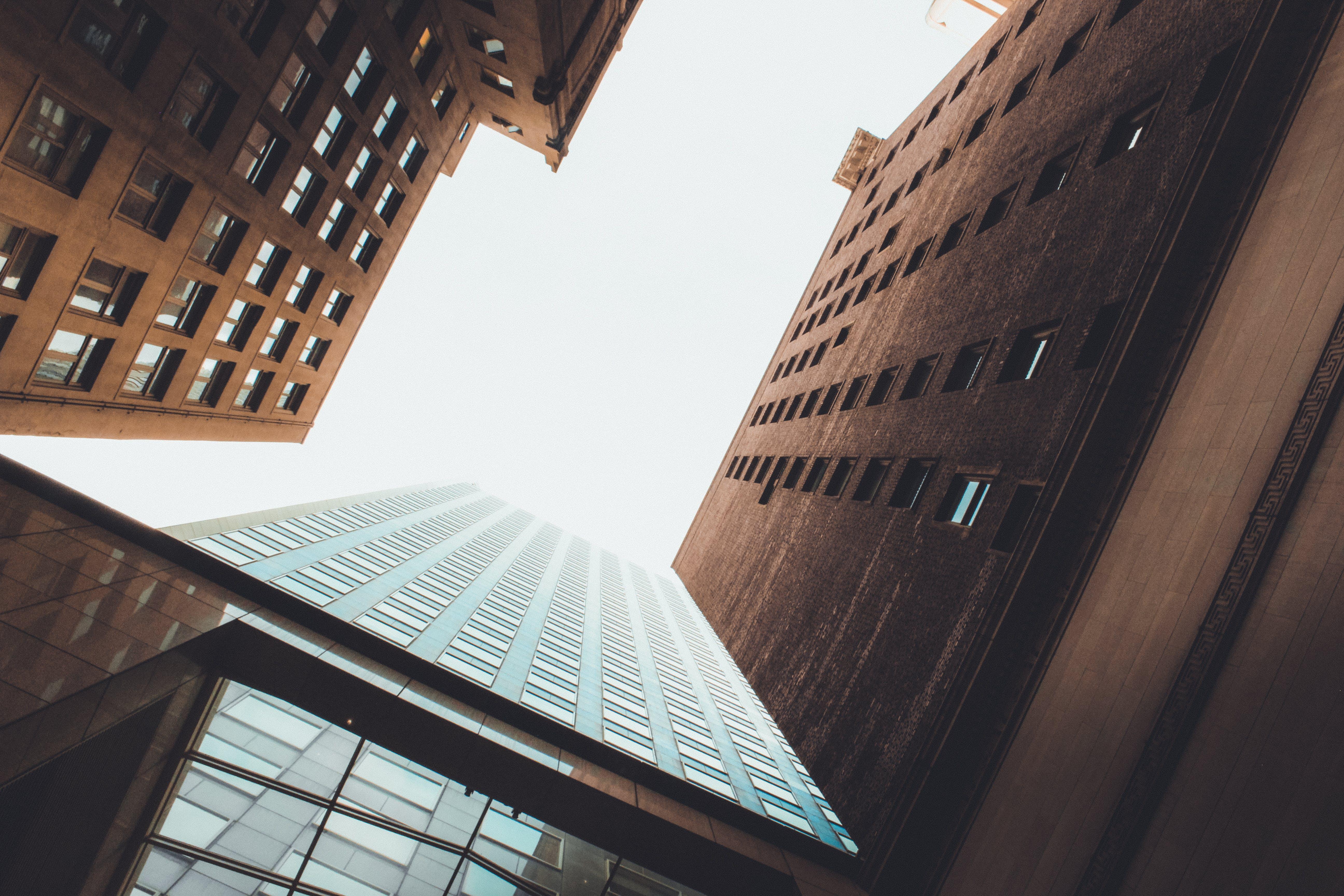 Gratis lagerfoto af arkitektur, by, bygninger, downtown