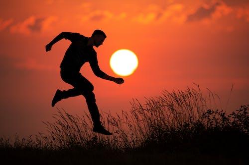 Ingyenes stockfotó Férfi, nap, naplemente, ordu témában