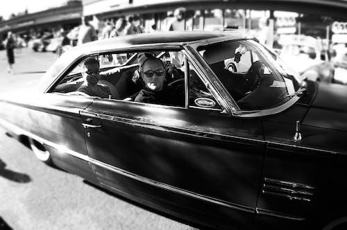 Základová fotografie zdarma na téma auto, černobílý, ford, plavba