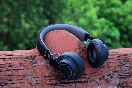 dinlemek, duymak, kulaklık, kulaklıklar içeren Ücretsiz stok fotoğraf