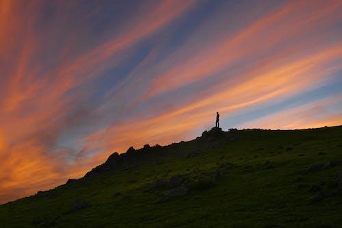 Gratis stockfoto met berg, buiten, dageraad, decor