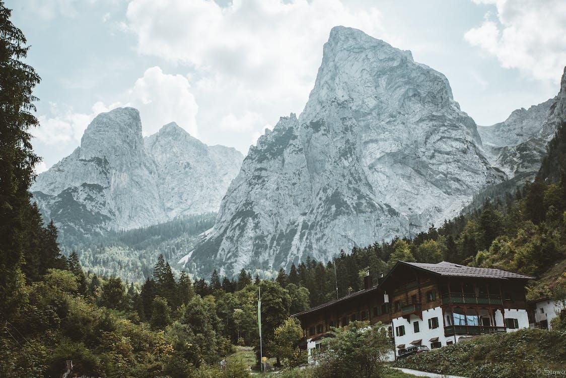 Alpy, denné svetlo, HD tapeta