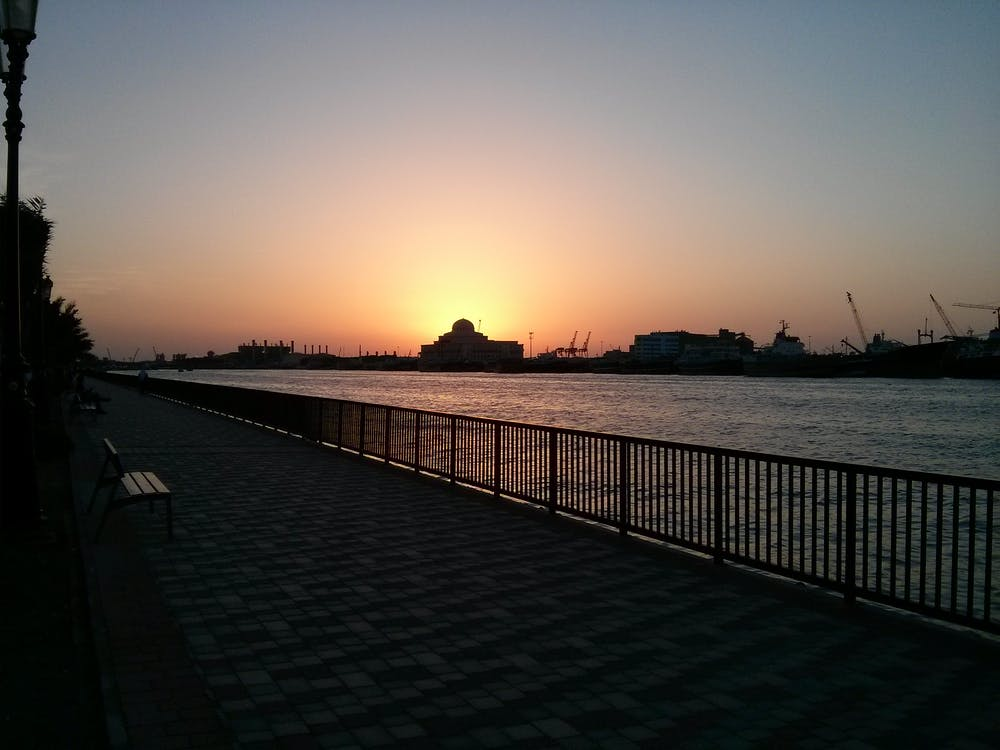 Free stock photo of evening
