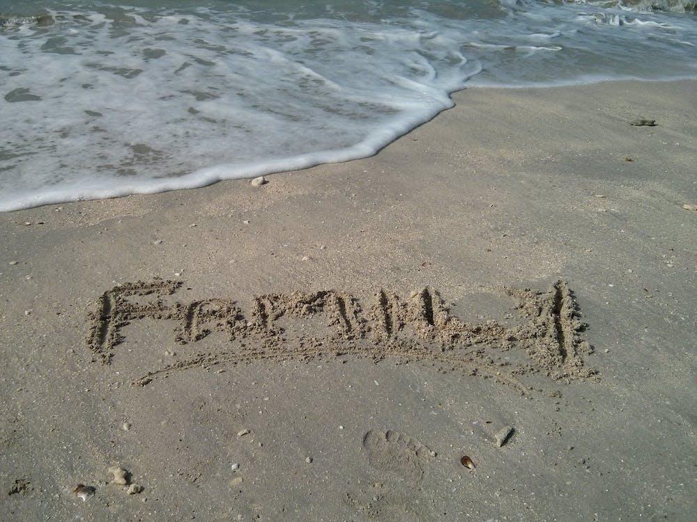 Fotobanka sbezplatnými fotkami na tému morský breh, pobrežie, rodina