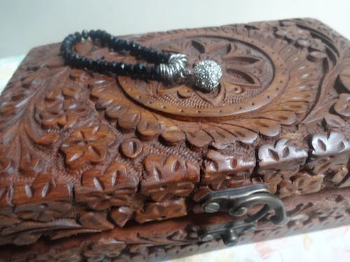 Free stock photo of bracelet, carved wood, jewellery, wooden