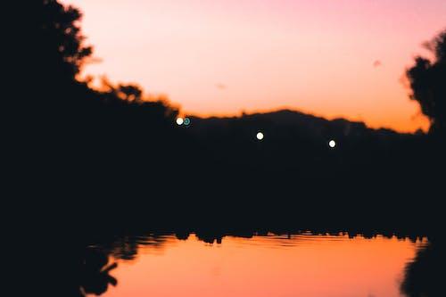 คลังภาพถ่ายฟรี ของ ตะวันลับฟ้า, ทอง, พระอาทิตย์ตก