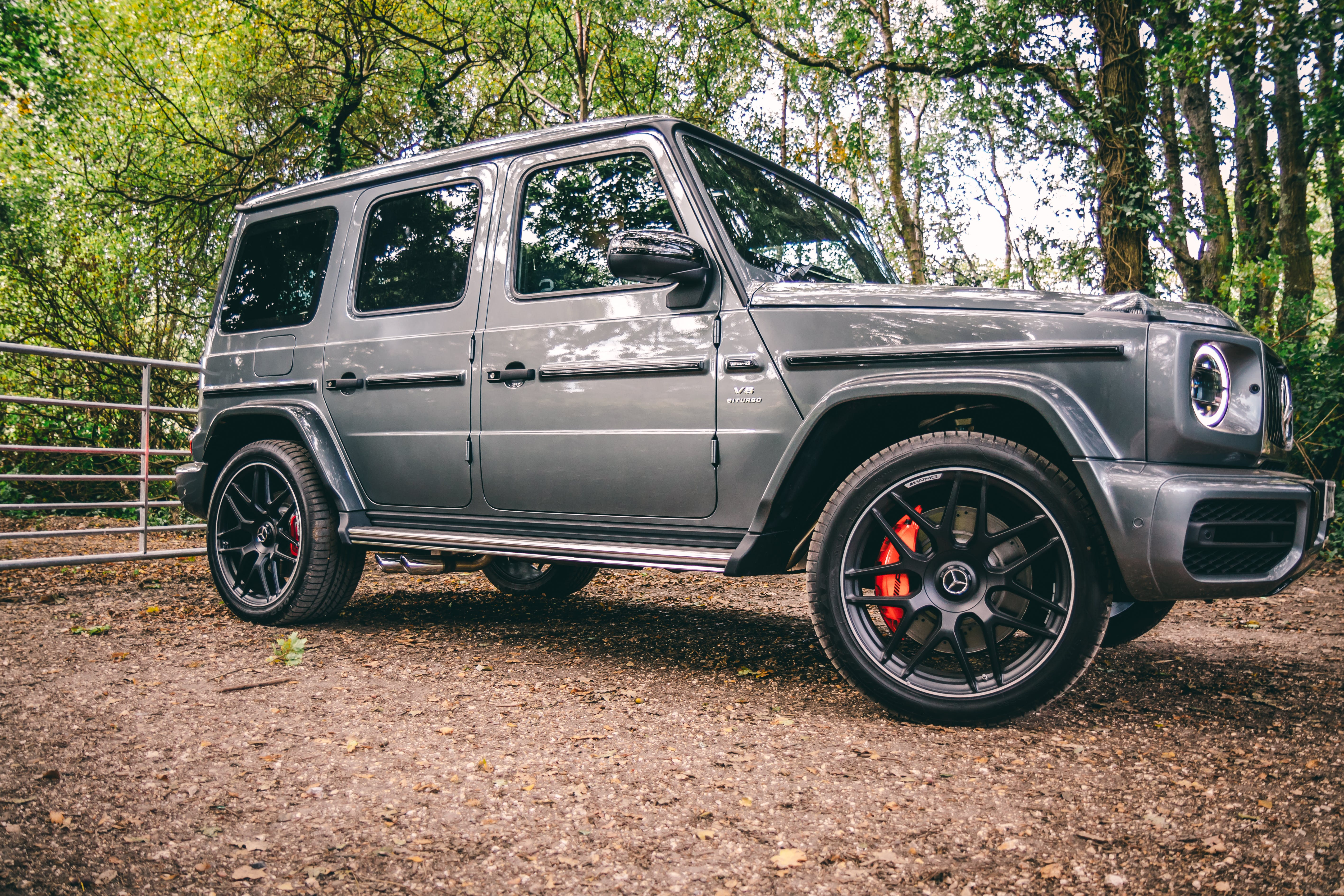 Photo of Mercedes-Benz G-Class Parked on Dirt Road
