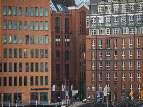 Free stock photo of hamburg, high rises, port