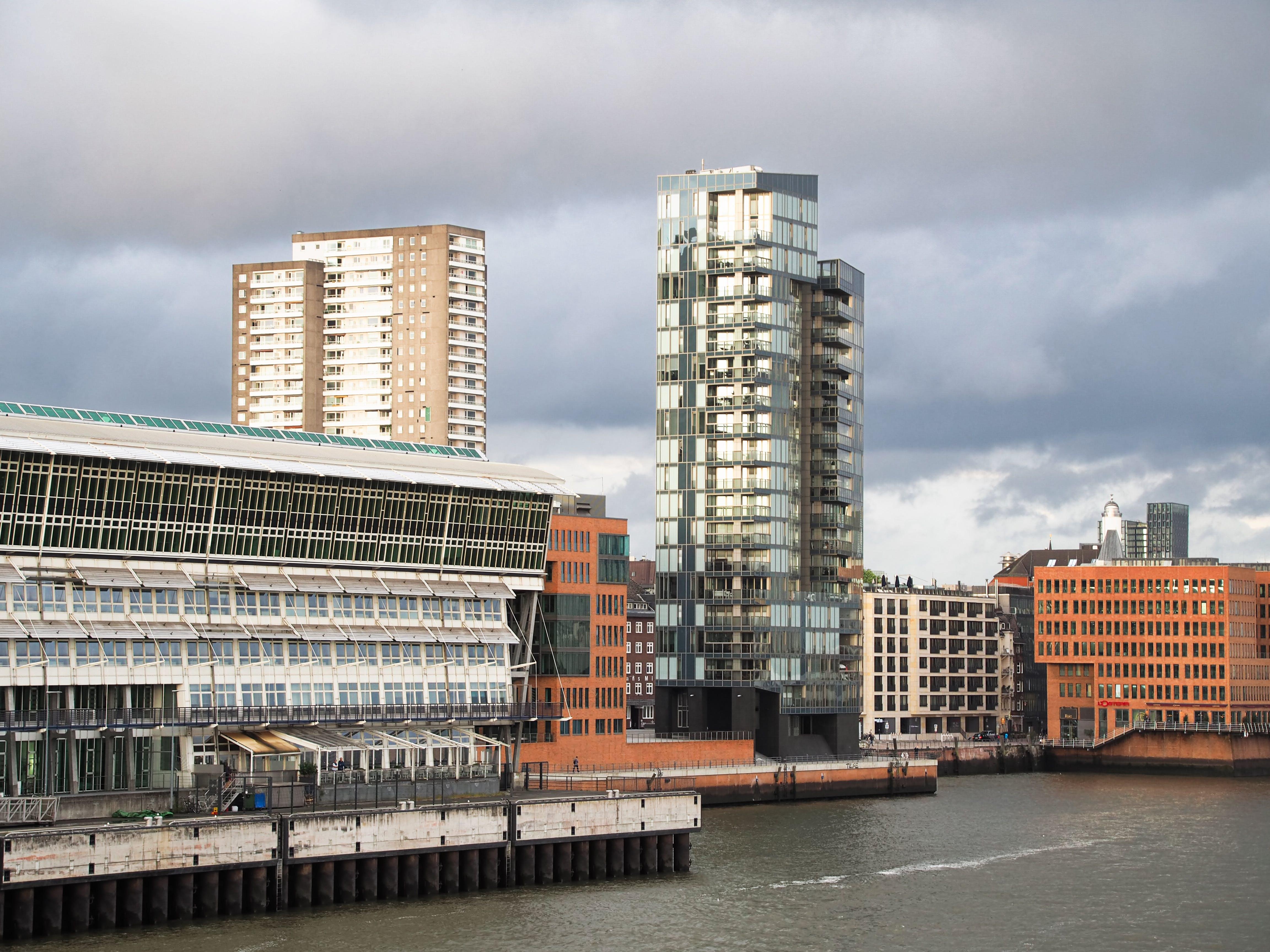 Free stock photo of hamburg, high rises, port