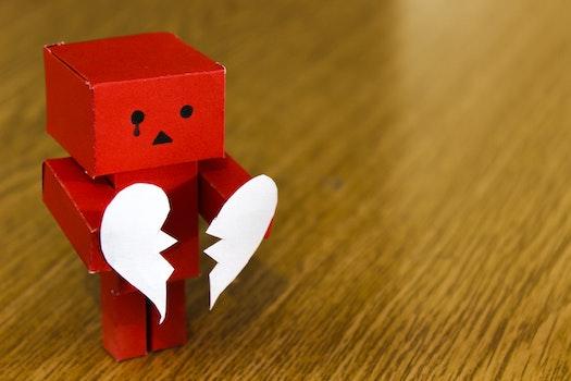 Free stock photo of love, heart, broken, sad