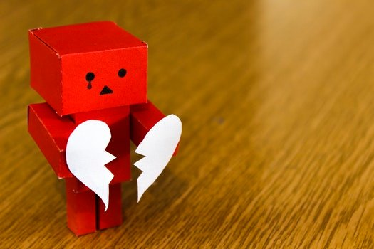 Free stock photo of love, heart, broken, sad