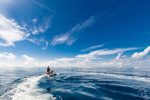 Darmowe zdjęcie z galerii z horyzont, ludzie, malediwy, morze