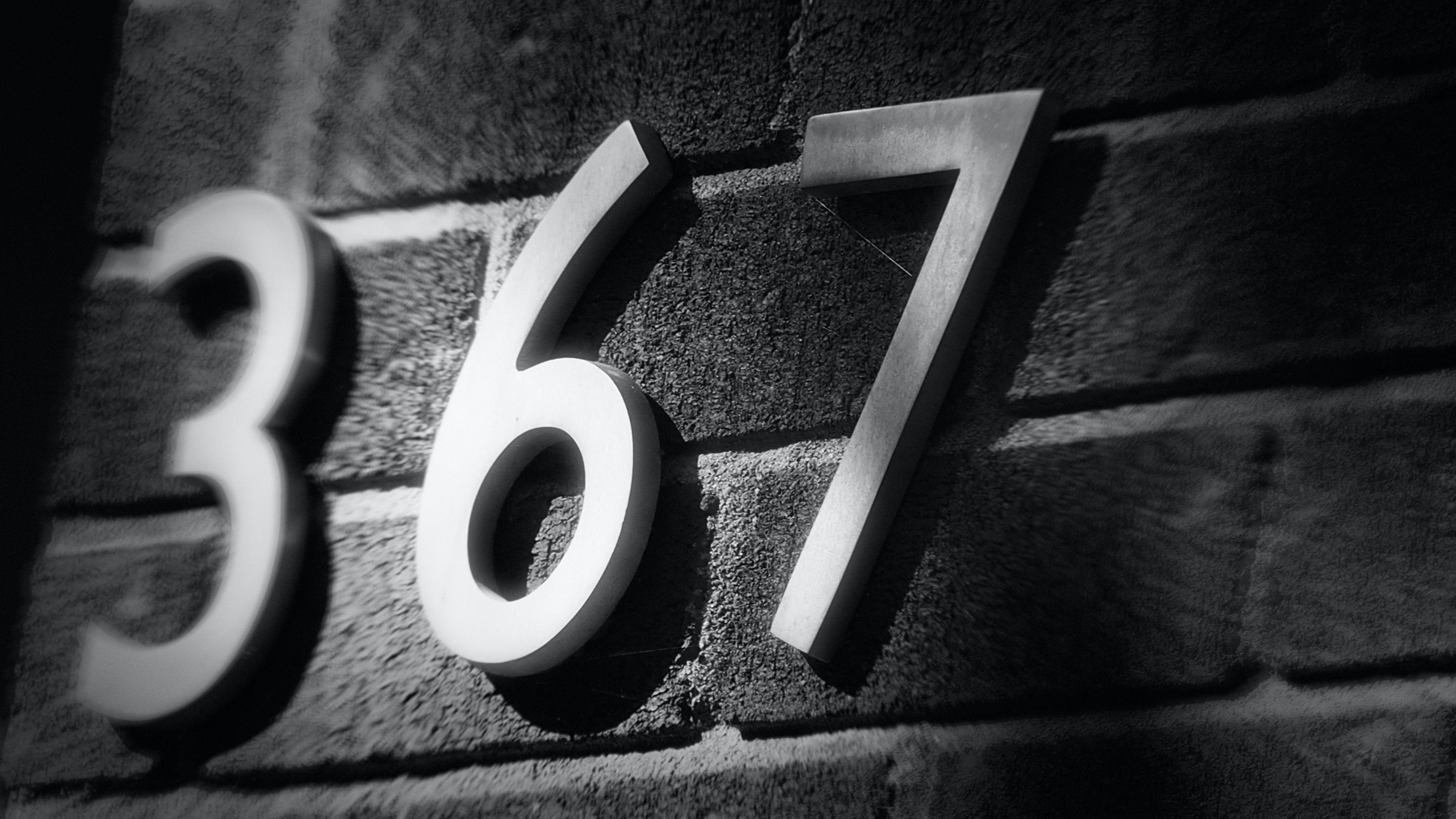 Free stock photo of street number