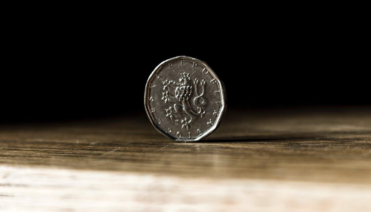 平衡, 特寫, 硬幣