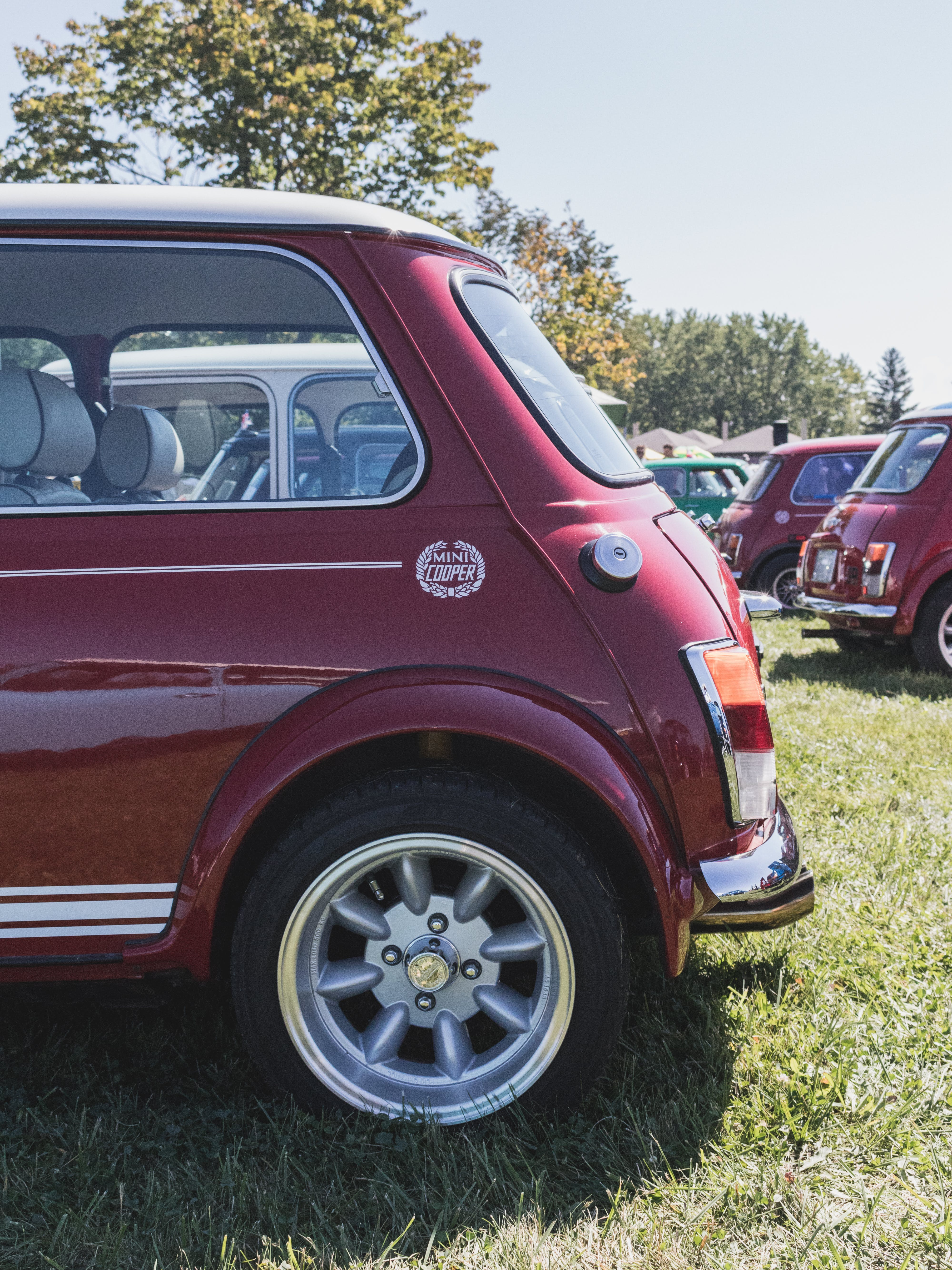 Classic Red Cars
