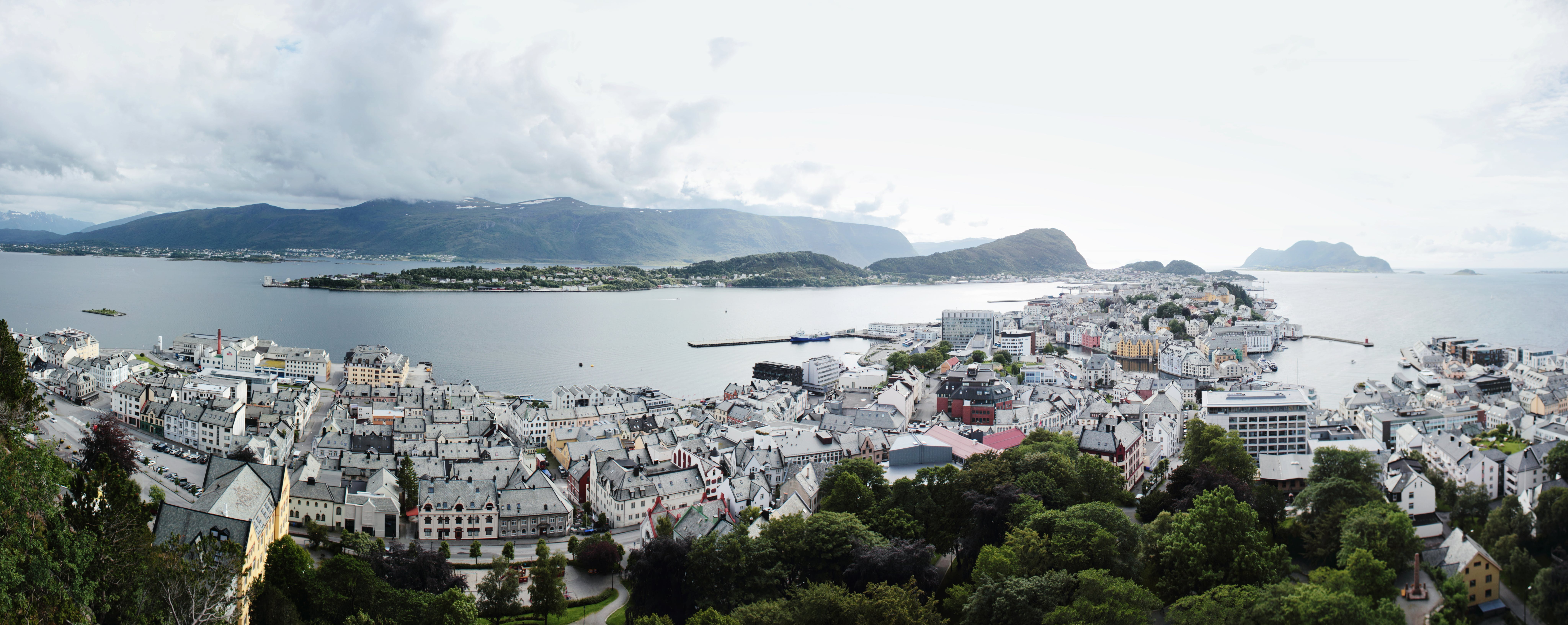 Free stock photo of architecture, city, fjord, norway