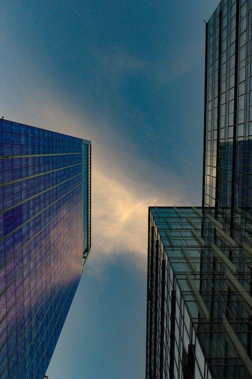 Ảnh lưu trữ miễn phí về các tòa nhà, cảnh quan thành phố, góc chụp thấp, kiến trúc