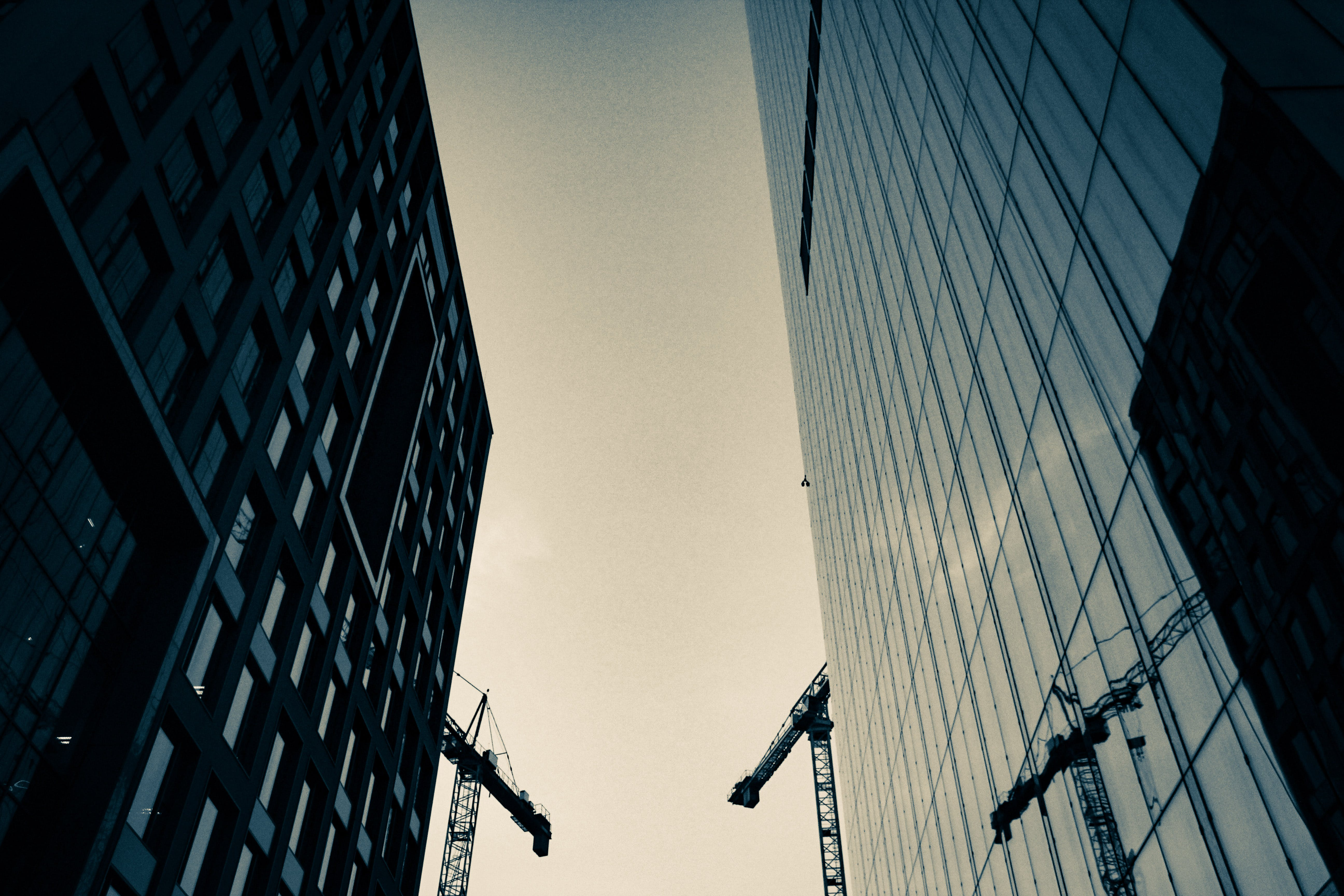 Low Angle Photography Of Two High Rise Buildings