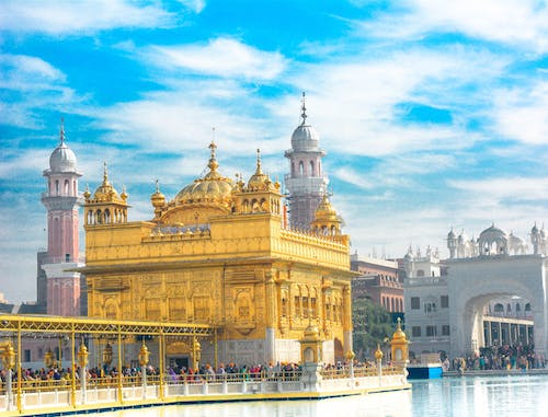 Free stock photo of amritsar, architecture, asia, blue