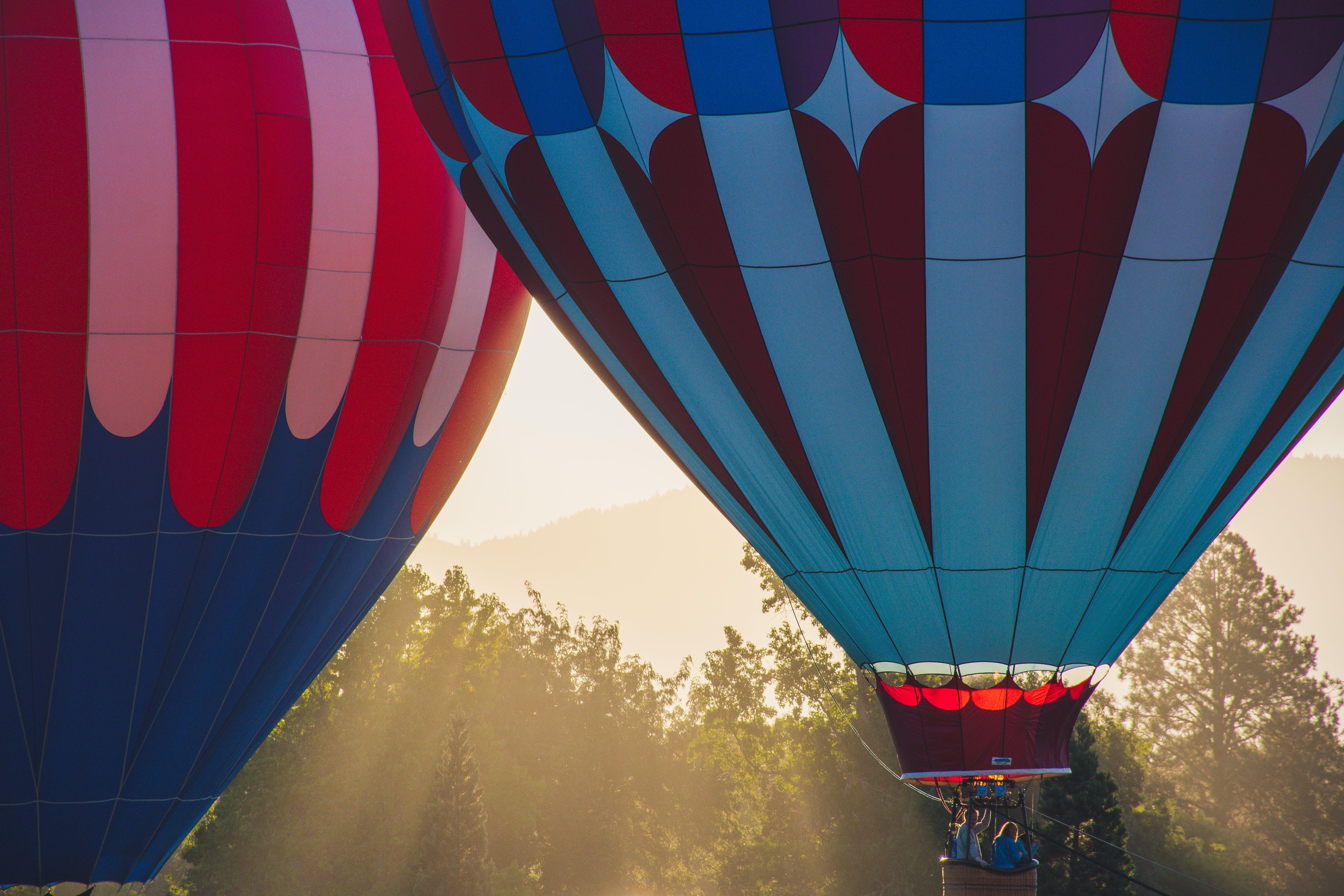 Kostenloses Stock Foto zu flug, fliegen, abenteuer, heißluftballon