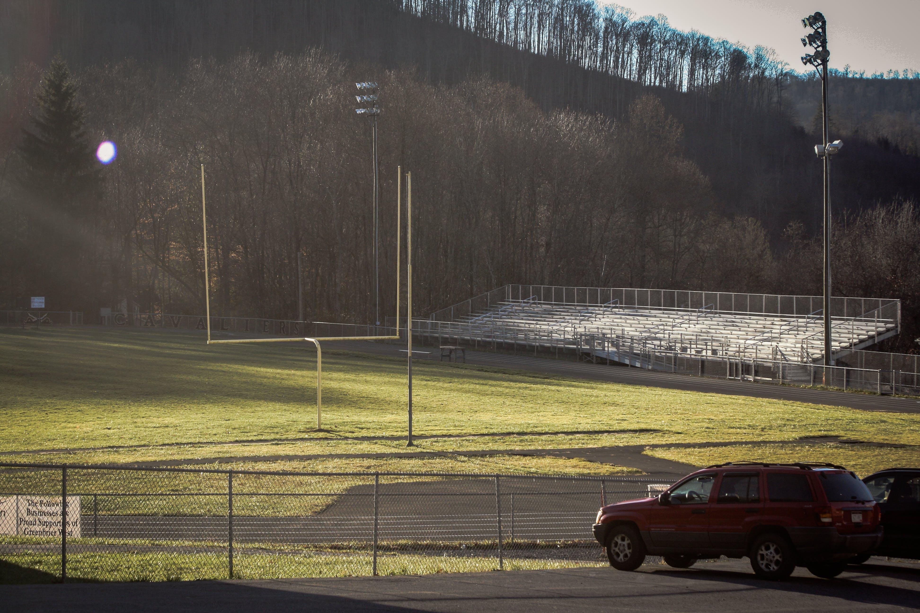 Free stock photo of fieldgoal, football, grass, highschool