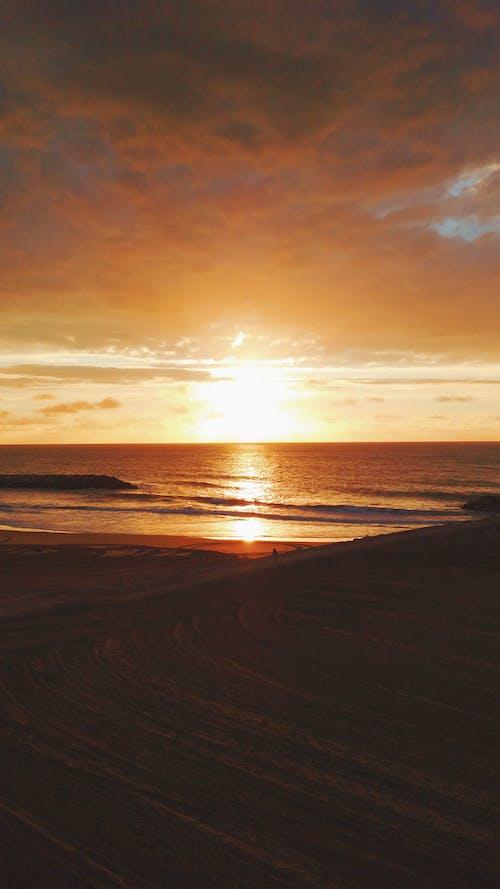 Δωρεάν στοκ φωτογραφιών με ακτογραμμή, Ανατολή ηλίου, πρωινός ήλιος