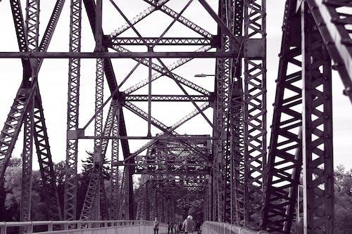 Gratis arkivbilde med avslapping, bro, elvebredd, ettermiddag