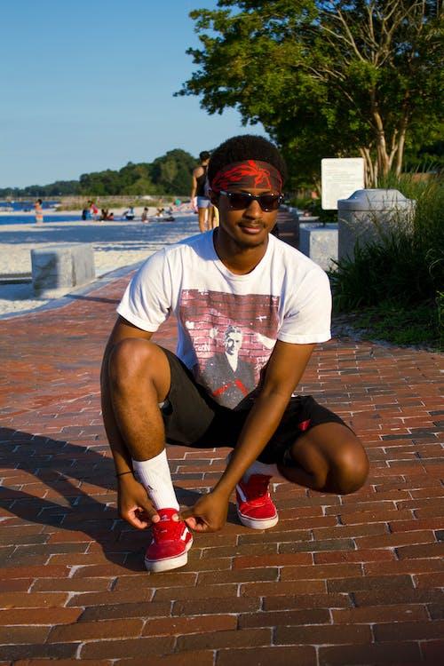 Gratis lagerfoto af mand, person, portræt, solbriller