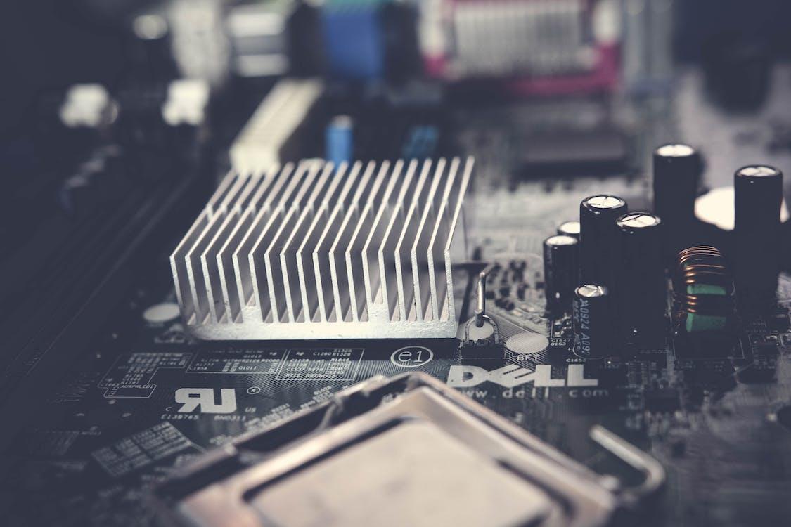 aluminium, chip, dell