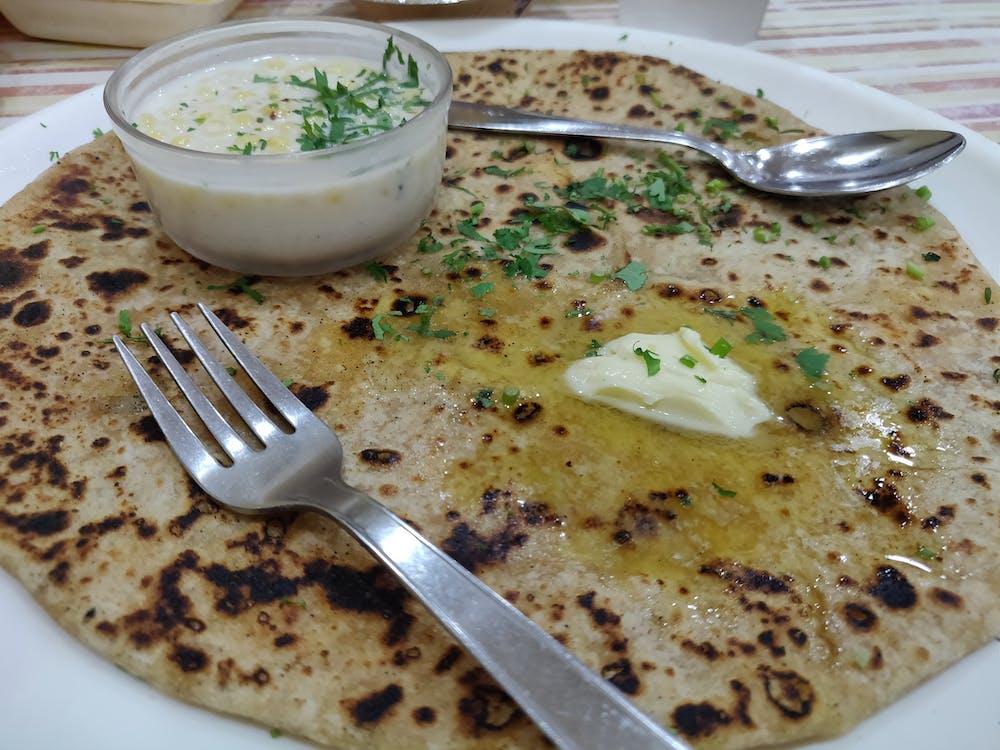 Aloo Paratha, indian food, Paratha