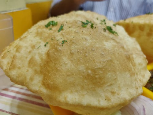 Free stock photo of Bhatura, puri