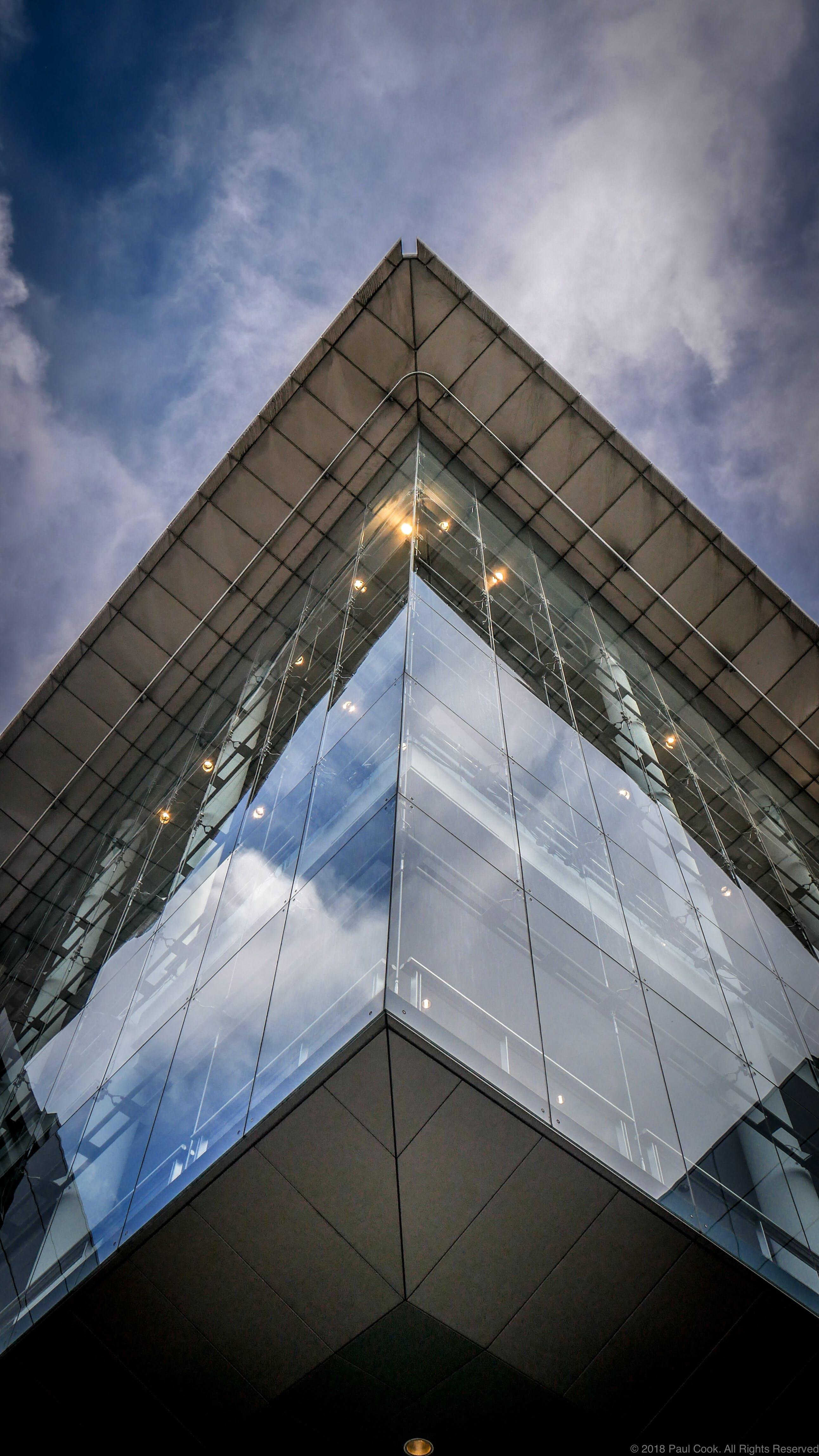 Free stock photo of angle, art, building, edge