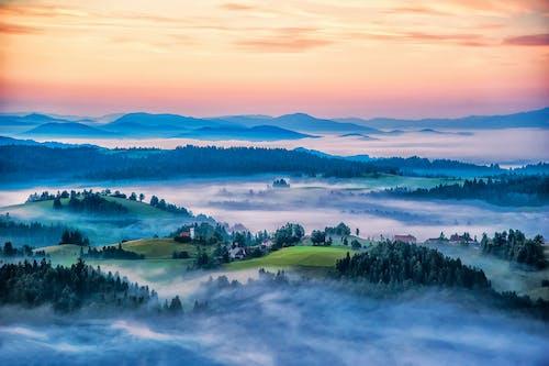Free stock photo of mountain village