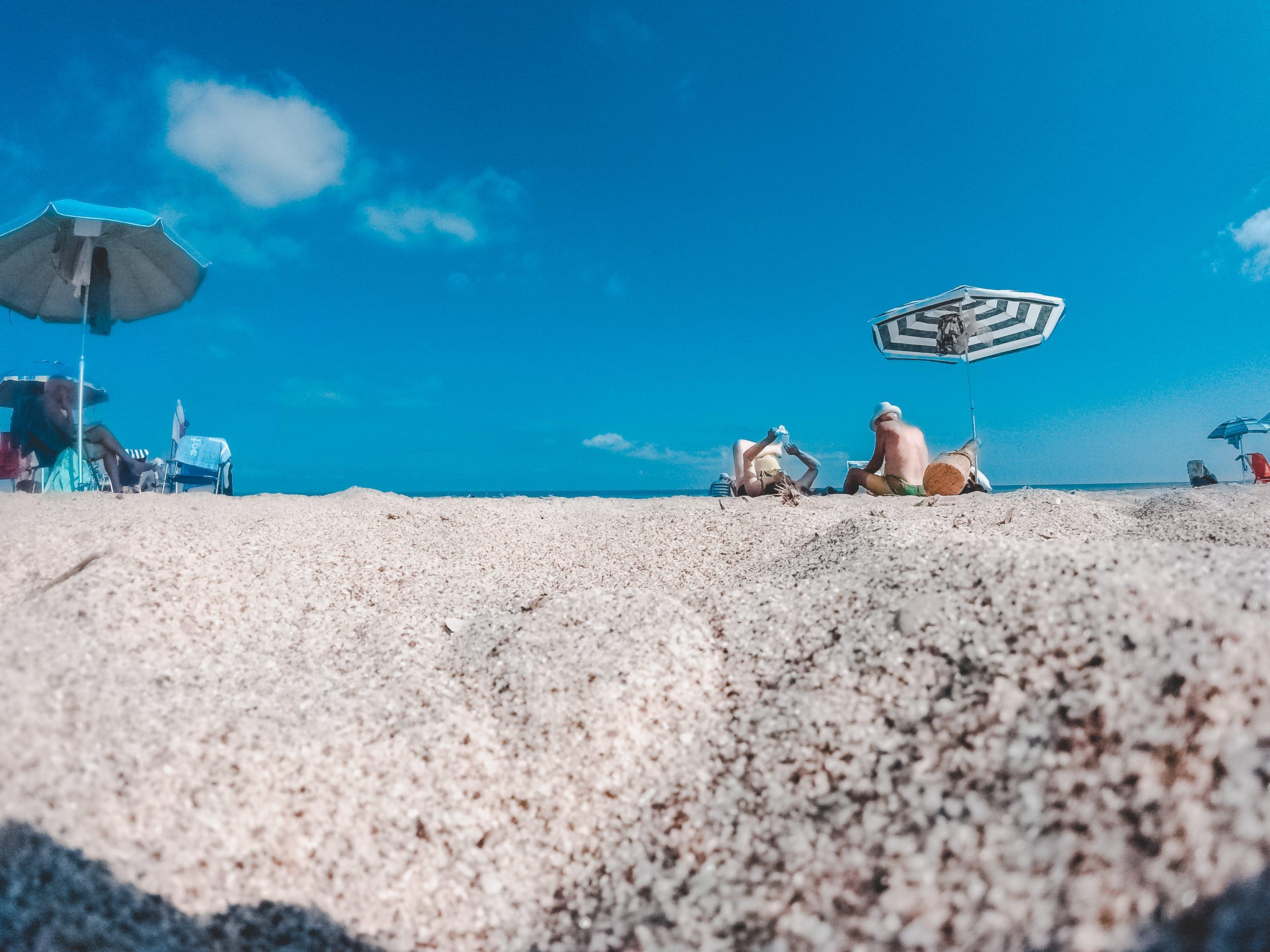 Free stock photo of beach, fair weather, horizon, landscape