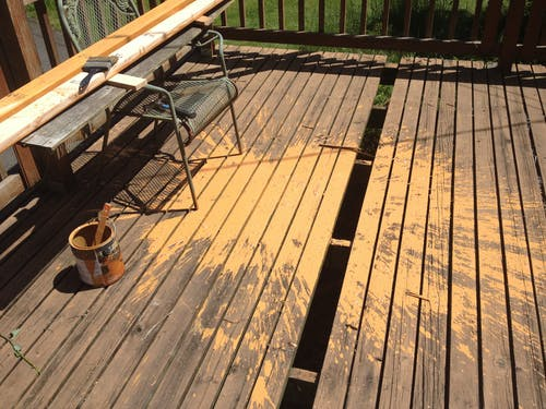 Free stock photo of deck, home repair, mistake, oops
