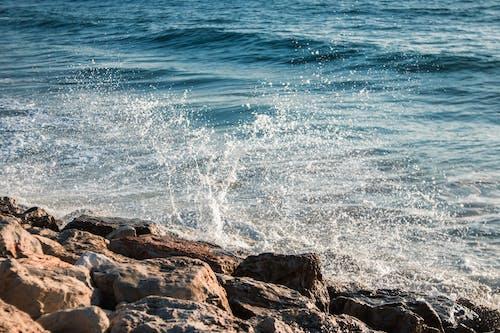 Ảnh lưu trữ miễn phí về bầu trời, biển, canon 77d, cục đá
