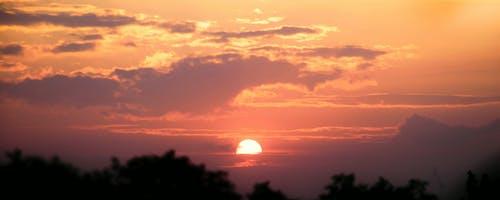 アフリカ, アフリカの夕日, 夕日, 夕日ウガンダの無料の写真素材
