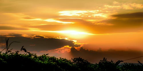 アフリカ, アフリカの夕日, ウガンダ, カンパラの夕日の無料の写真素材