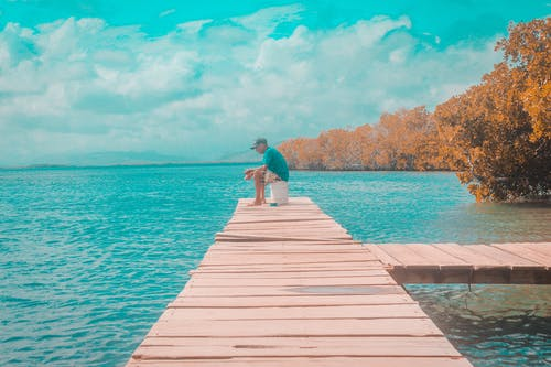 Foto profissional grátis de azul, litoral, mar, natural