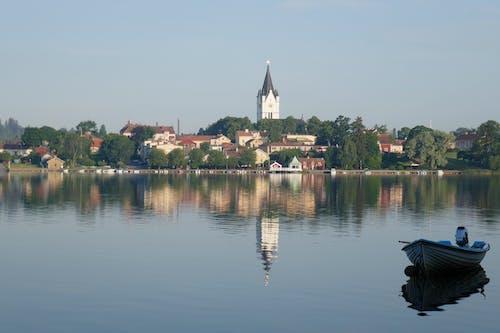 Kostnadsfri bild av båt, klocktorn, Sverige