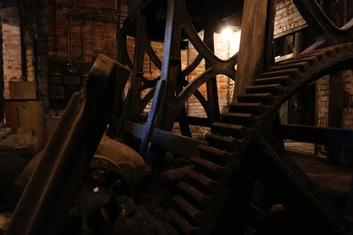 Free stock photo of gears, machinery