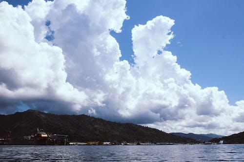 Ingyenes stockfotó caribbea, coastilne, ég, hegyek témában