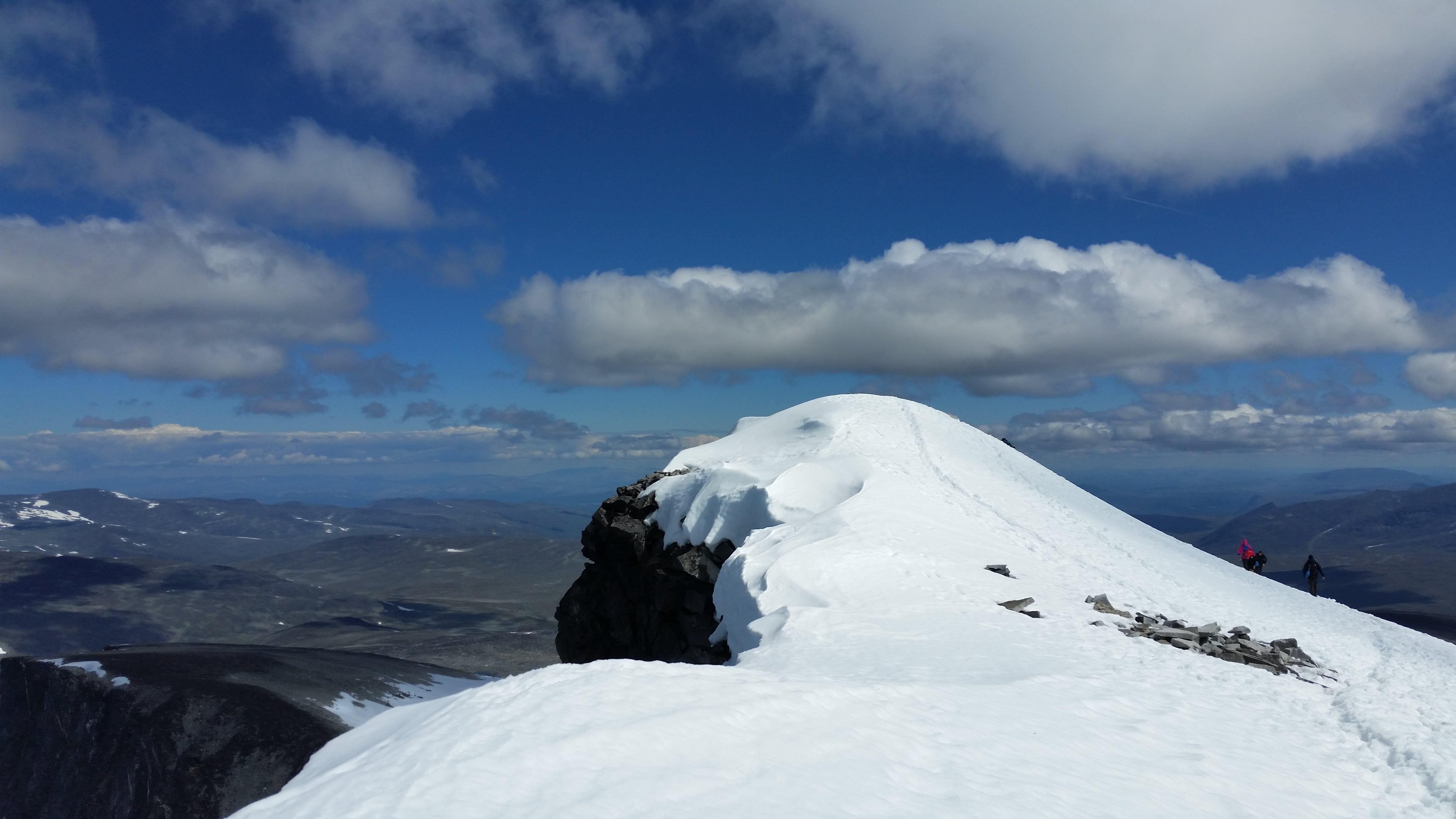 Foto d'estoc gratuïta de caminar per la muntanya, estiu, glacera, jotunheimen